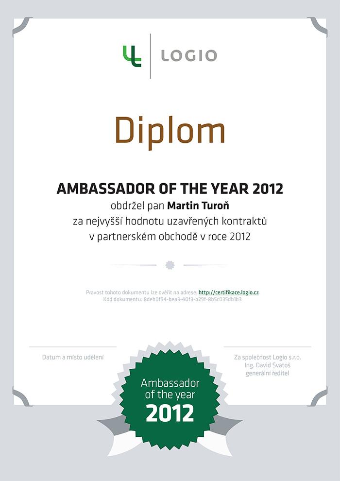 Diplom_AOTY-2012_Turon-1a_TISK